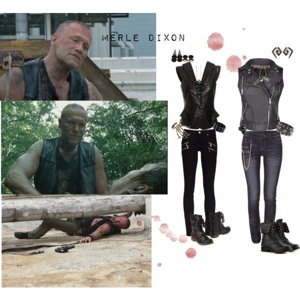 """""""Merle Dixon"""" by ashlynmcgee on Polyvore"""