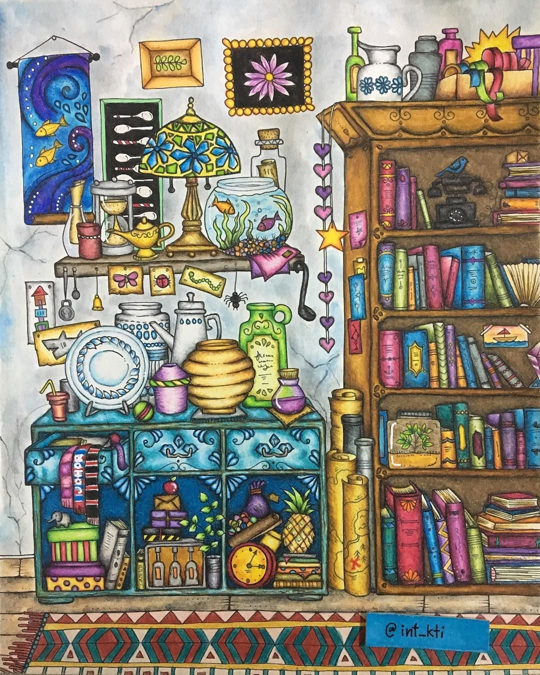 Colorful Book Room: Wonder Room From Ivy And The Inky Butterfly By