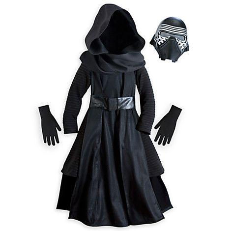 Abito FANTASIA Ragazzi Disney Star Wars Darth Vader Costume-versione Deluxe con maschera