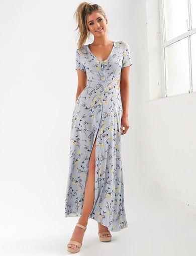 RACHEL FLORAL MAXI DRESS