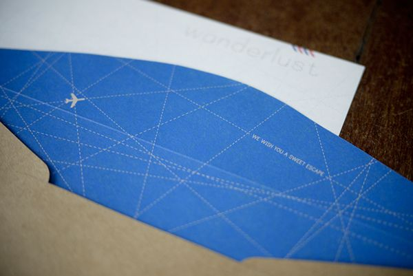 """More intricate flight pattern background. Try out this """"airline"""" blue."""