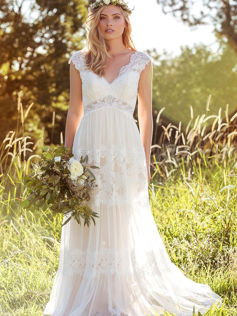 Lucinda Boho Style Lace Weddings Bohemian Wedding Dresses