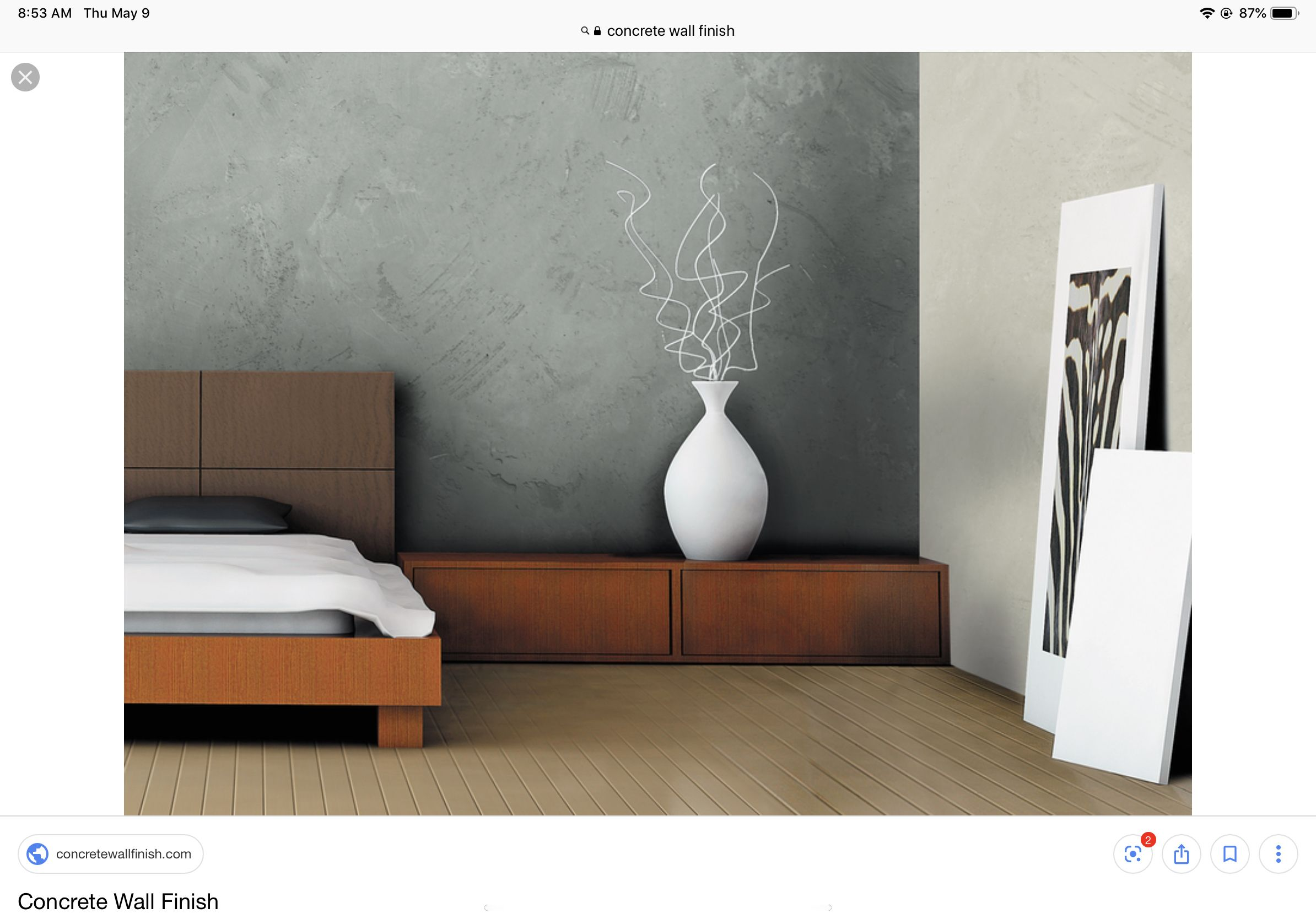 Concrete Wall Finish Com Perhaps This Might Be Interesting For Interior Feature Wa Concrete Wall Interior Design Concrete Walls Interior Concrete Walls Bedroom