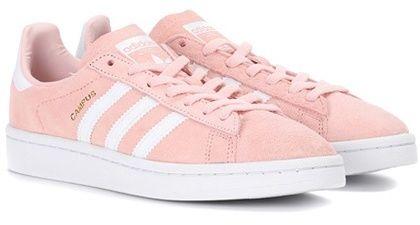 adidas scarpe rosa con strisce bianche per le donne / ragazze '