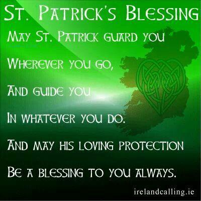 St. Patrick's blessing