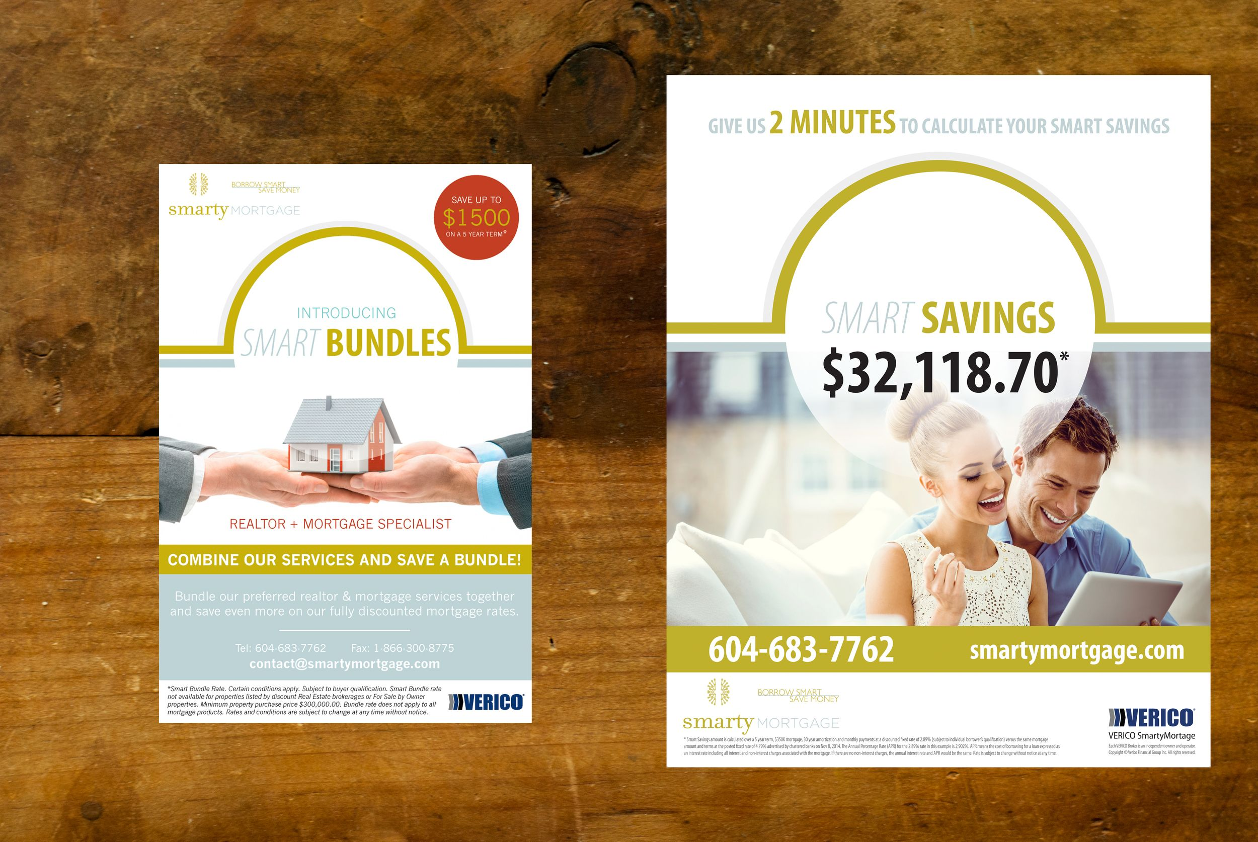 Advertising Campaign Design For Smarty Mortgage Campaign Included