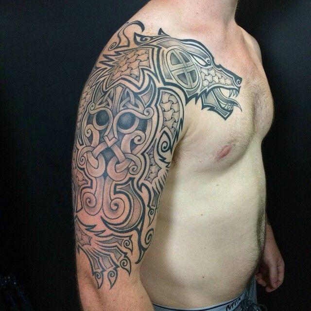 Fenrir Tattoo (The Ragnarök)
