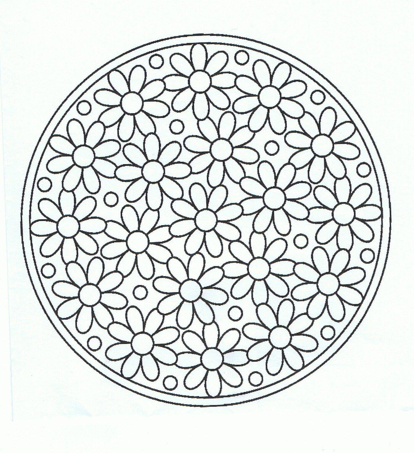 Image Result For Mandala Color Pages Flower Circle Mandala Coloring Mandala Coloring Pages Mandala