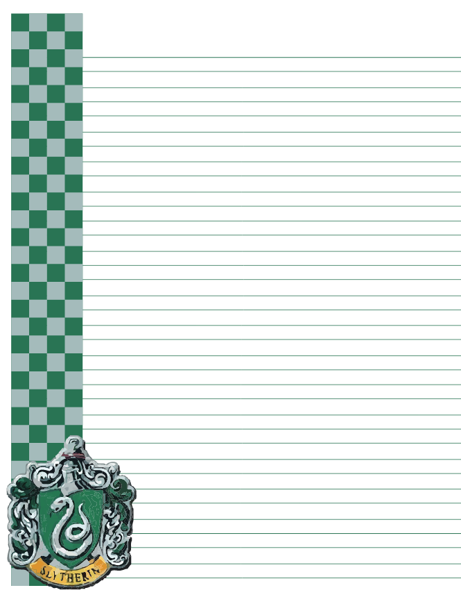 Https Aliciarflowright Deviantart Com Art Slytherin Letter 186554556 Carta De Harry Potter Joyería De Harry Potter Imprimibles Harry Potter