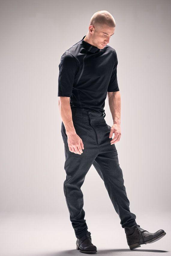 Off The High Street Boys Slim Cargo Trousers School Charcoal Dark Grey Uniform Adjustable Waist