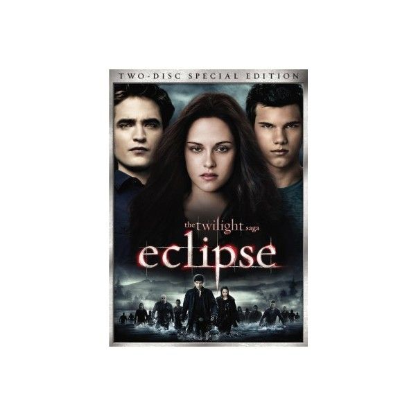 Eclipse DVD ❤ liked on Polyvore
