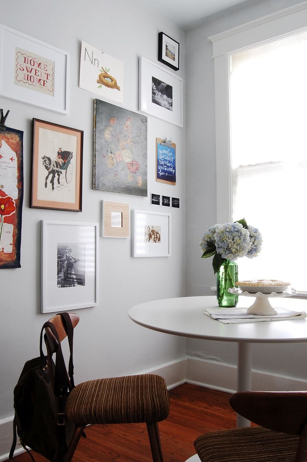 Note The Three Little Ones Thrown In My Houzz Modern Meets Vintage This Eclectic Nashville Home