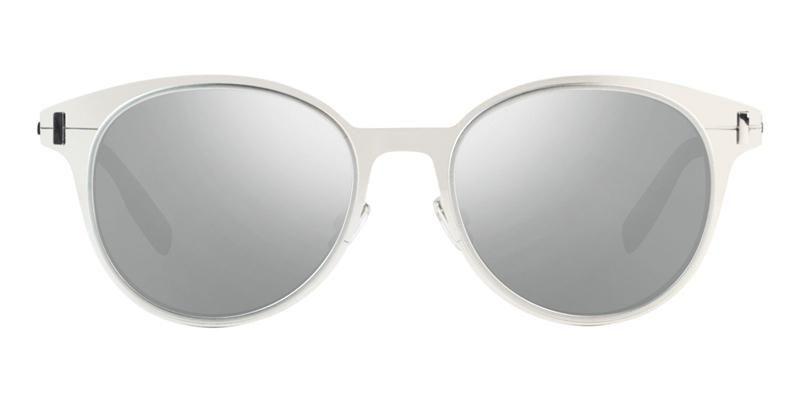 f7bff379b0 Dior Homme DiorDepth01 Silver   Silver Lens Mirror Sunglasses ...
