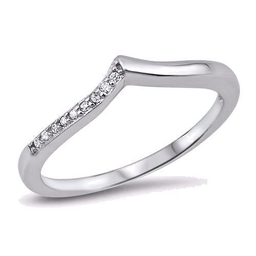 Slyq Jewelry 3mm Thin Ring Engagement Jewelry eternity ring