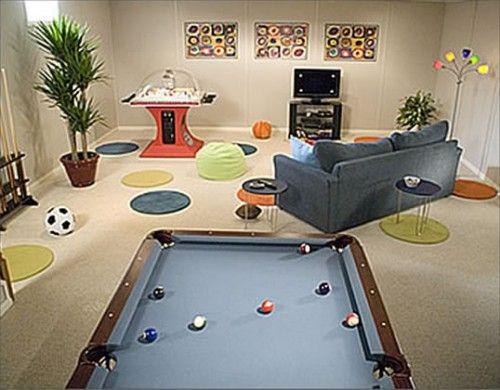 Pin By Cara Heary On Playrooms Kids Entertainment Room Kids Playroom Kids Tv Room
