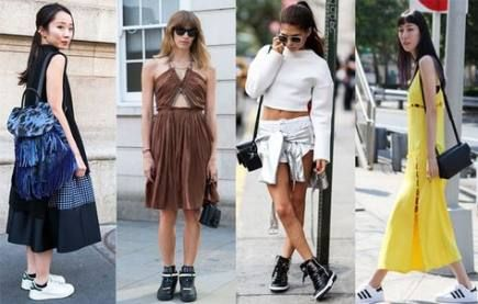 24+ Ideas For Sport Chic Summer Sneakers #sneakers #sport