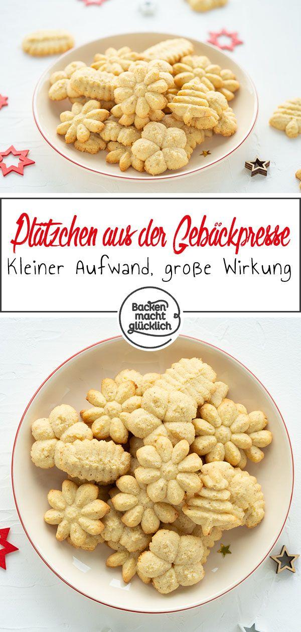 Gebäckpresse für Kekse: Rezept  #sabledenoel