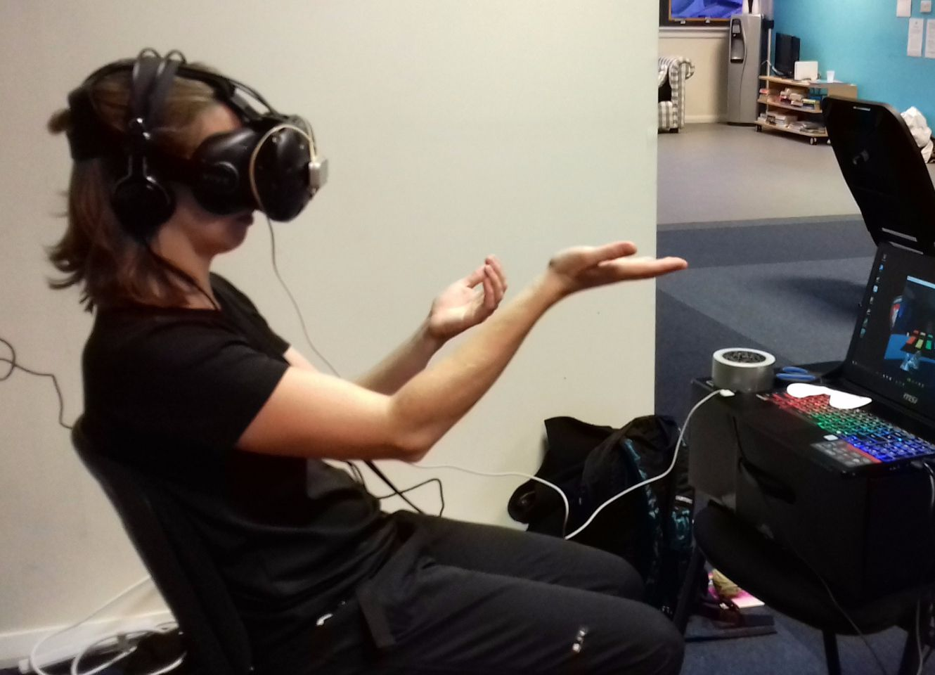 Immersive Rehab Using Virtual Reality for Physical