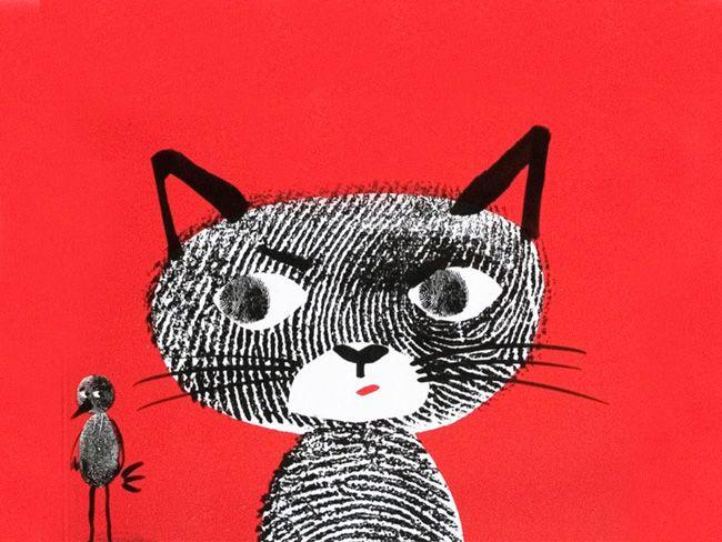 huella, ilustración de Marion Deuchart