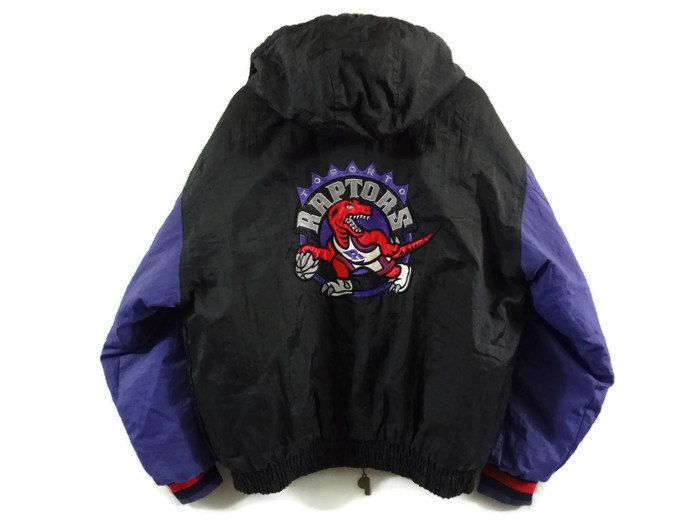 45ef1a98d82 Toronto Raptors Vintage Jacket - Large - Reversible -90s Clothing -  Original Logo - NBA - Canadian Basketball - Ontario Sports - Rare - by  BLACKMAGIKA on ...