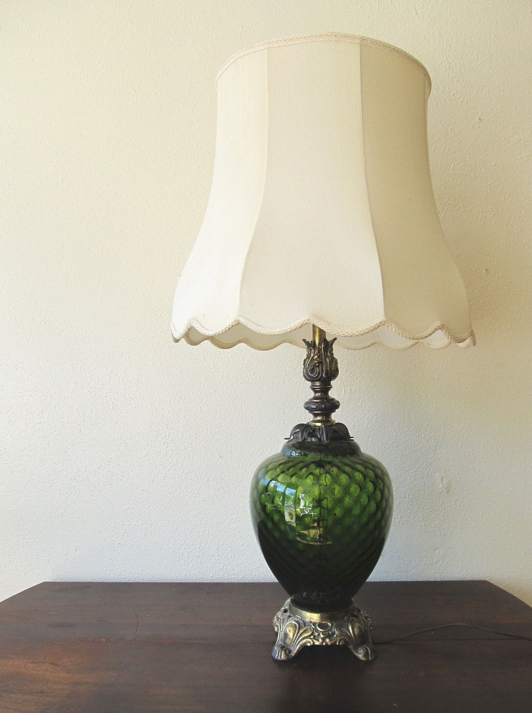 Dale Tiffany TT90429 Daffodil 22 inch 60 watt Antique Bronze Verde Green  Table Lamp Portable Light