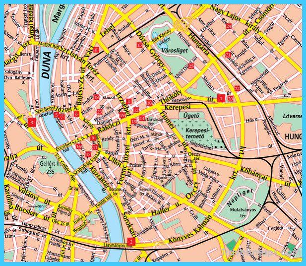 nice Map of Budapest Budapest Pinterest Nice map, Budapest and - fresh yemen in world map
