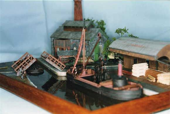 Building Maritime Dioramas -   by Graham Castle
