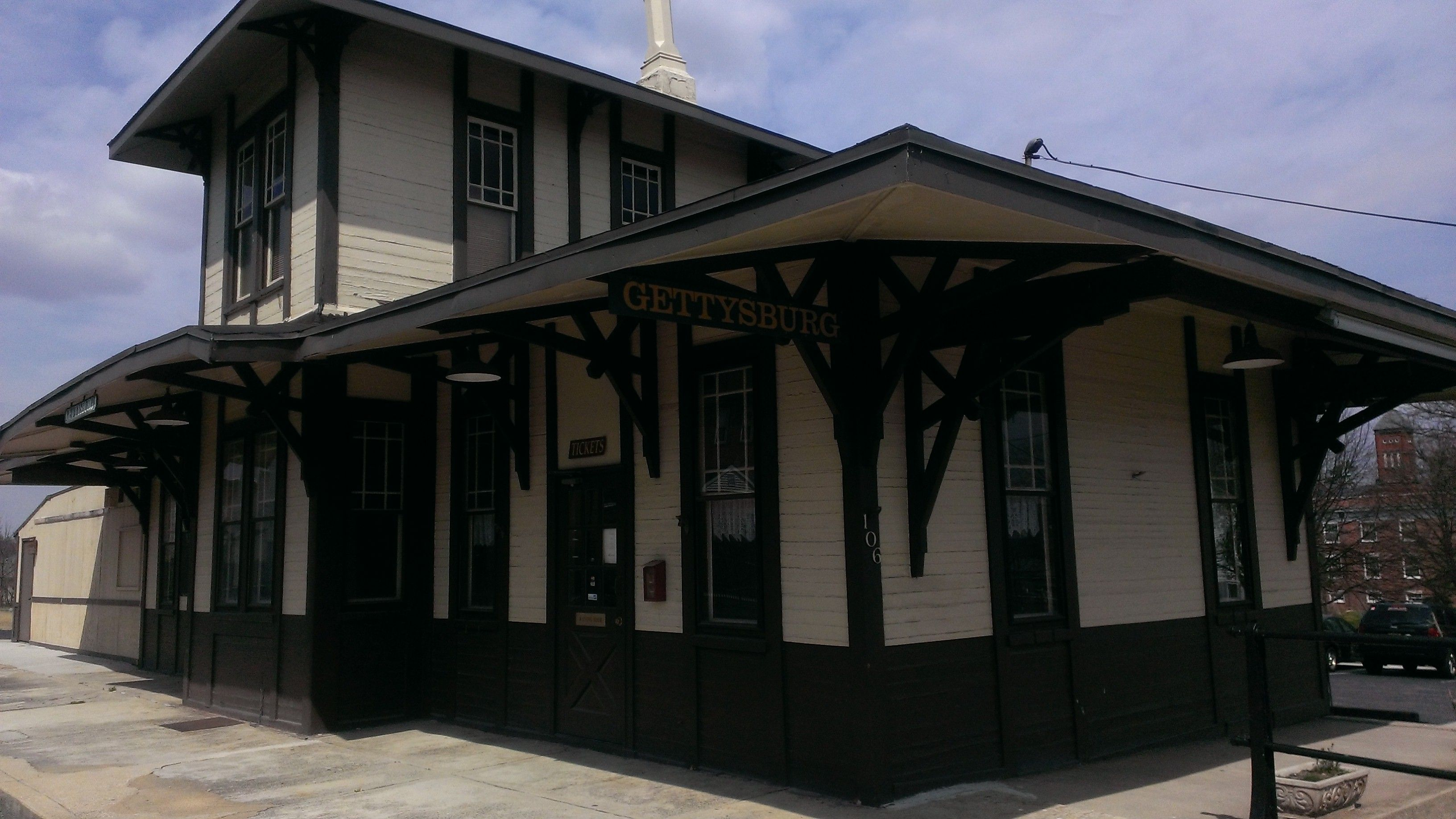 Train Station in Gettysburg Pennsylvania (With images