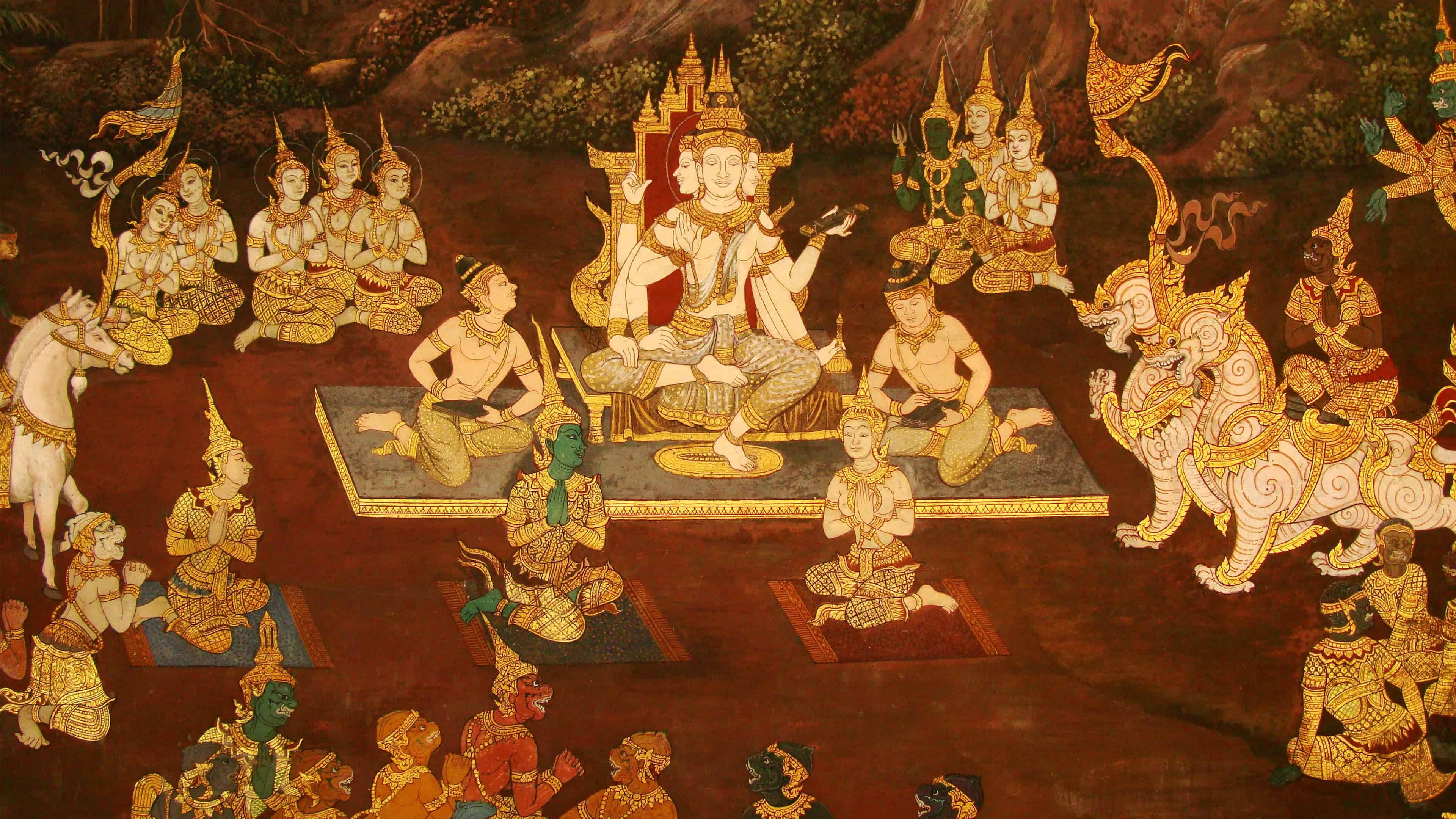 Thai Art UHD 4K Wallpaper Pixelz Thai art, Buddhist
