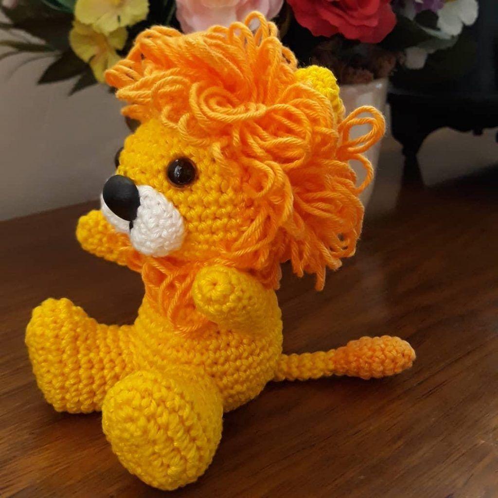 Amigurumi lion crochet free patterns free crochet