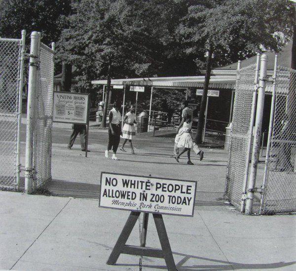 Schwarze Menschen in Tennessee
