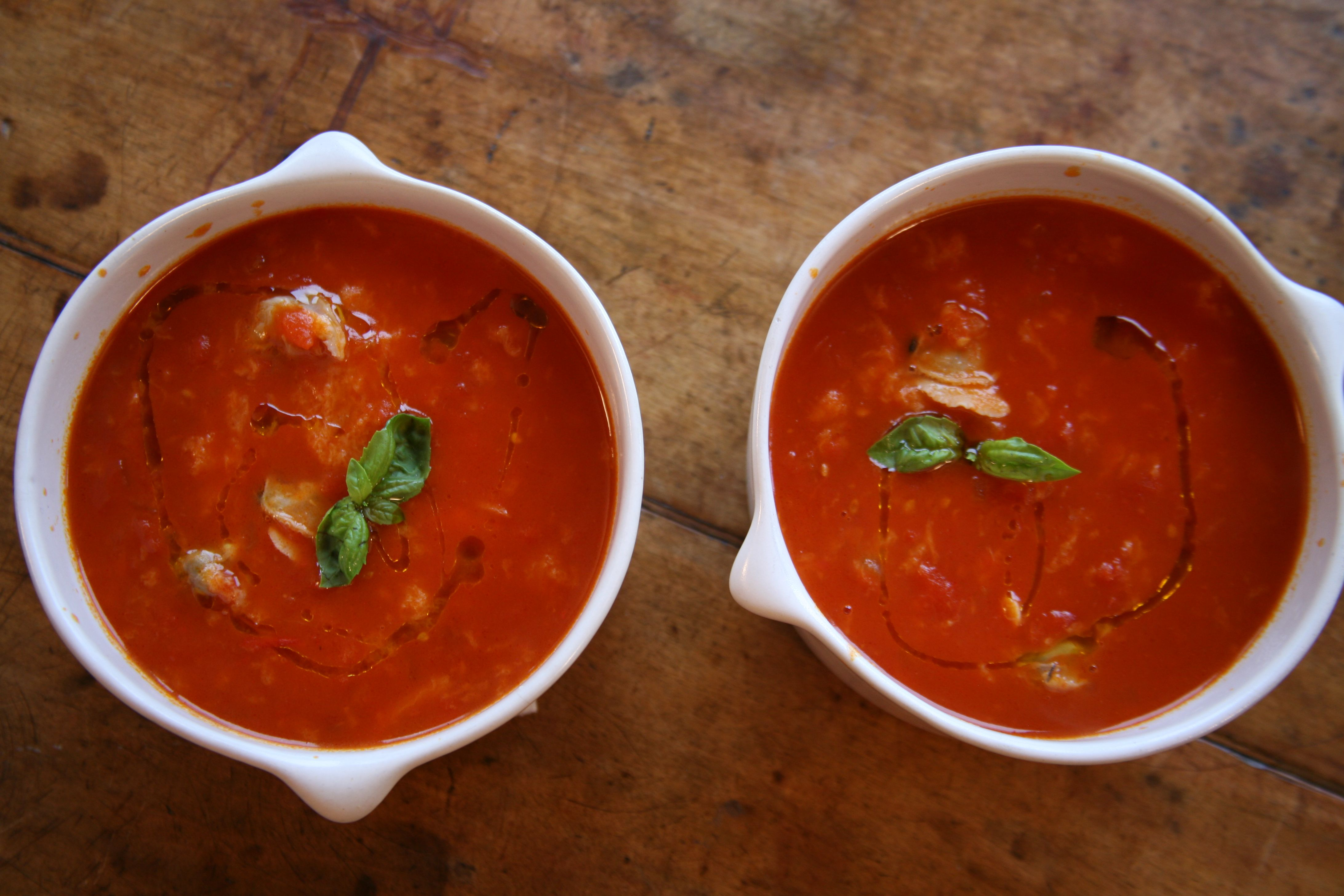 Tomato And Clam Soup Lidia Cooking Soup Clam Chowder Recipes Soup Recipes