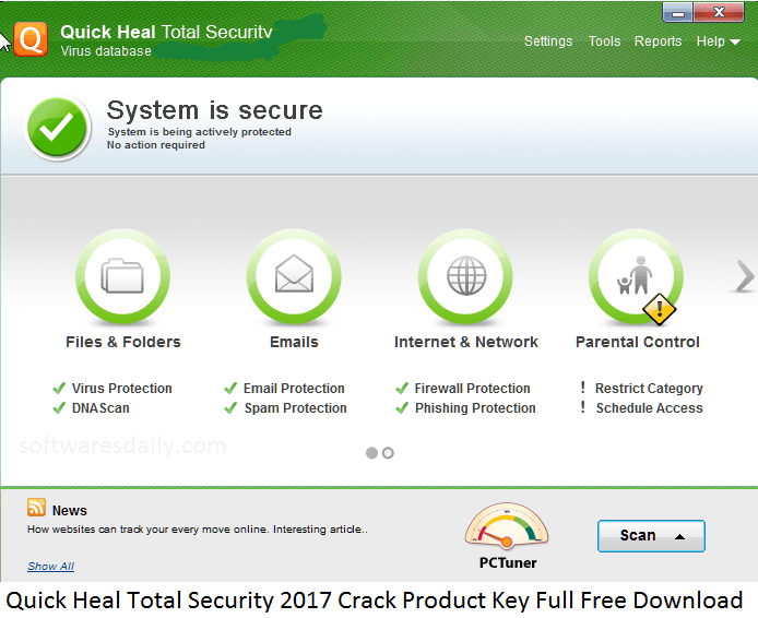 quick heal antivirus crack