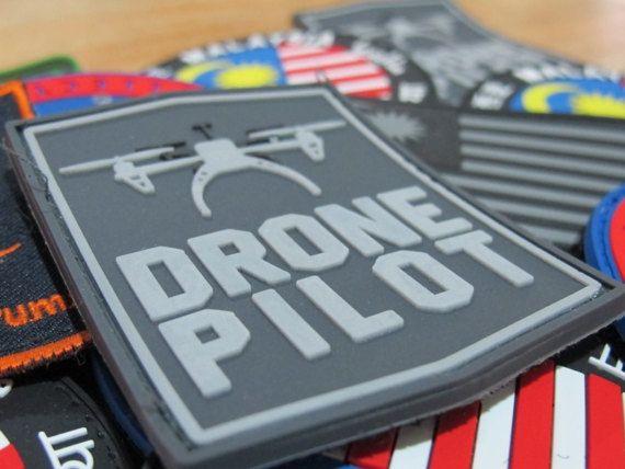 Drone Pilot PVC Morale Patch | Morale Patches | Morale patch