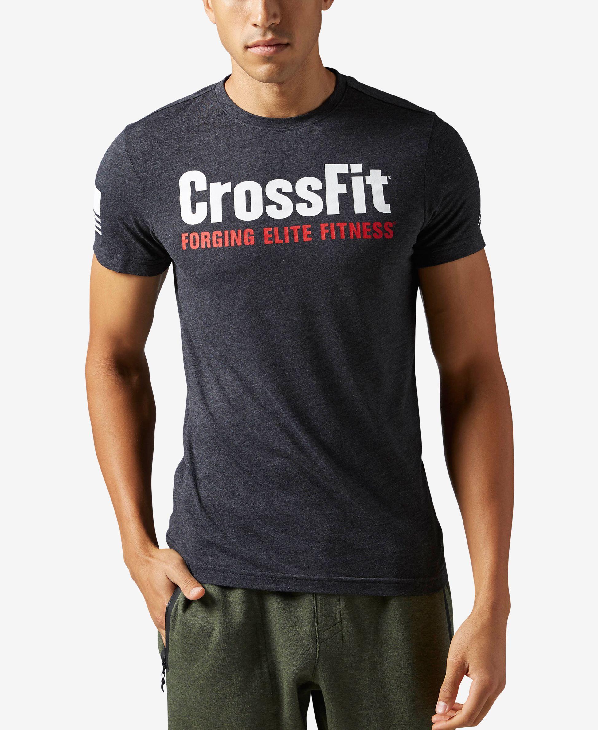 Reebok Men's CrossFit T Shirt | Crossfit shirts, Crossfit