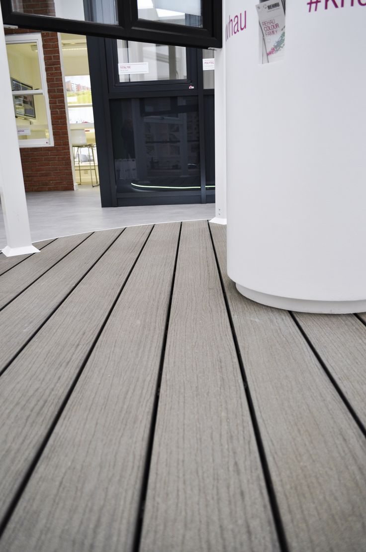 Attach Wood Deck To Existing Composite Plastic Patio