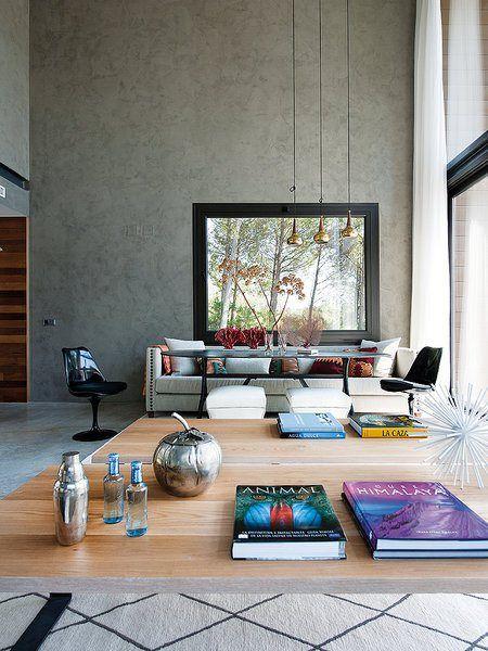 Casa prefabricada de hormigón en Guadalajara | Silla panton ...
