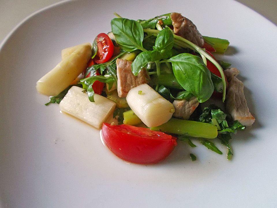 Chefkoch.de Rezept: Italienischer Spargelsalat