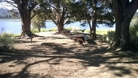 Juniper Point - The picnic and BBQ area