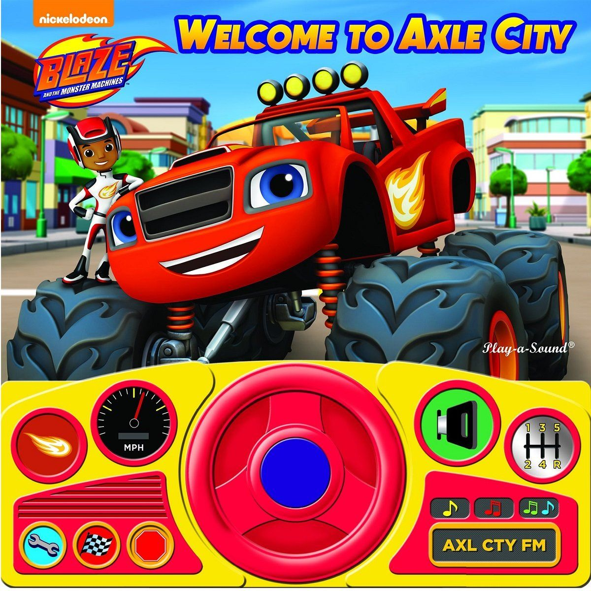 Blaze and the Monster Machines To Axle City