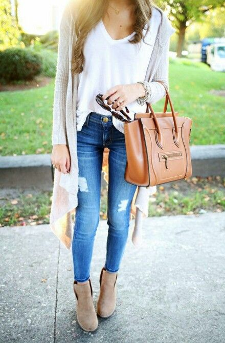 Botas Cafes Jean Clothes Pinterest Clothes Clothing And
