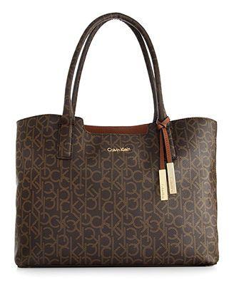 lägre pris med eleganta skor bästa online Calvin Klein Handbag, Key Items CK Monogram Tote   bags in 2019 ...