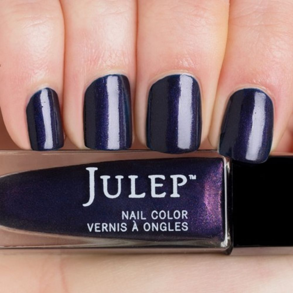 Julep ELISE Nail Color Treat Polish Indigo with Purple Microshimmer ...