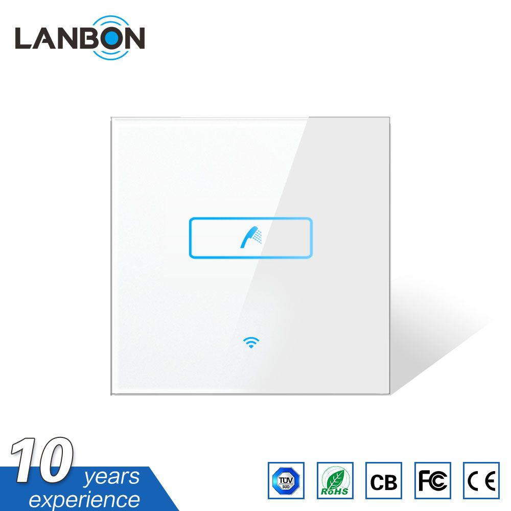 Intelligent Integrated Smart Home Automation Wireless Touch Water Heater Switch Energy Saving Wifi Boiler Sw Switch Energy Smart Home Automation Smart Switches