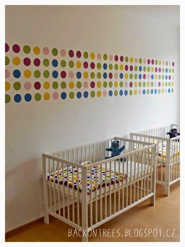 Recovery Room Design: Puntíkovaná Zeď V Dětském Pokoji