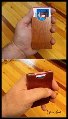 Scrollsaw Workshop: Wooden Business Card Holder.
