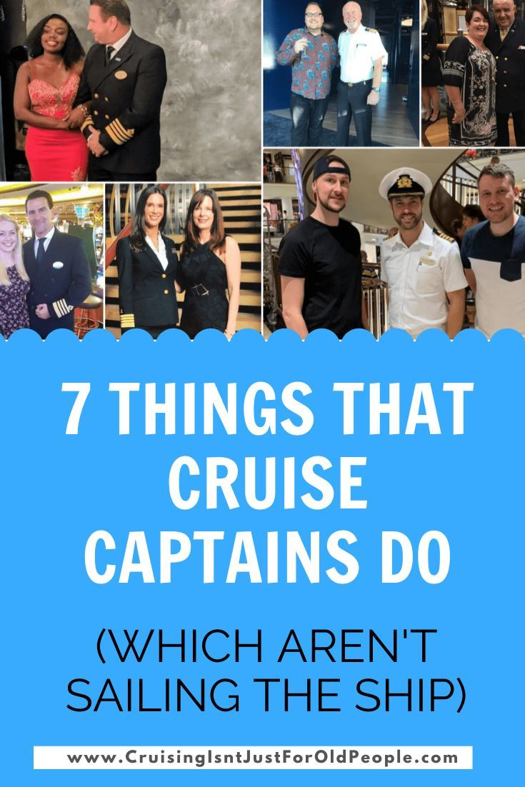 What Do Cruise Captains Do? How Much Do They ACTUALLY Earn ...