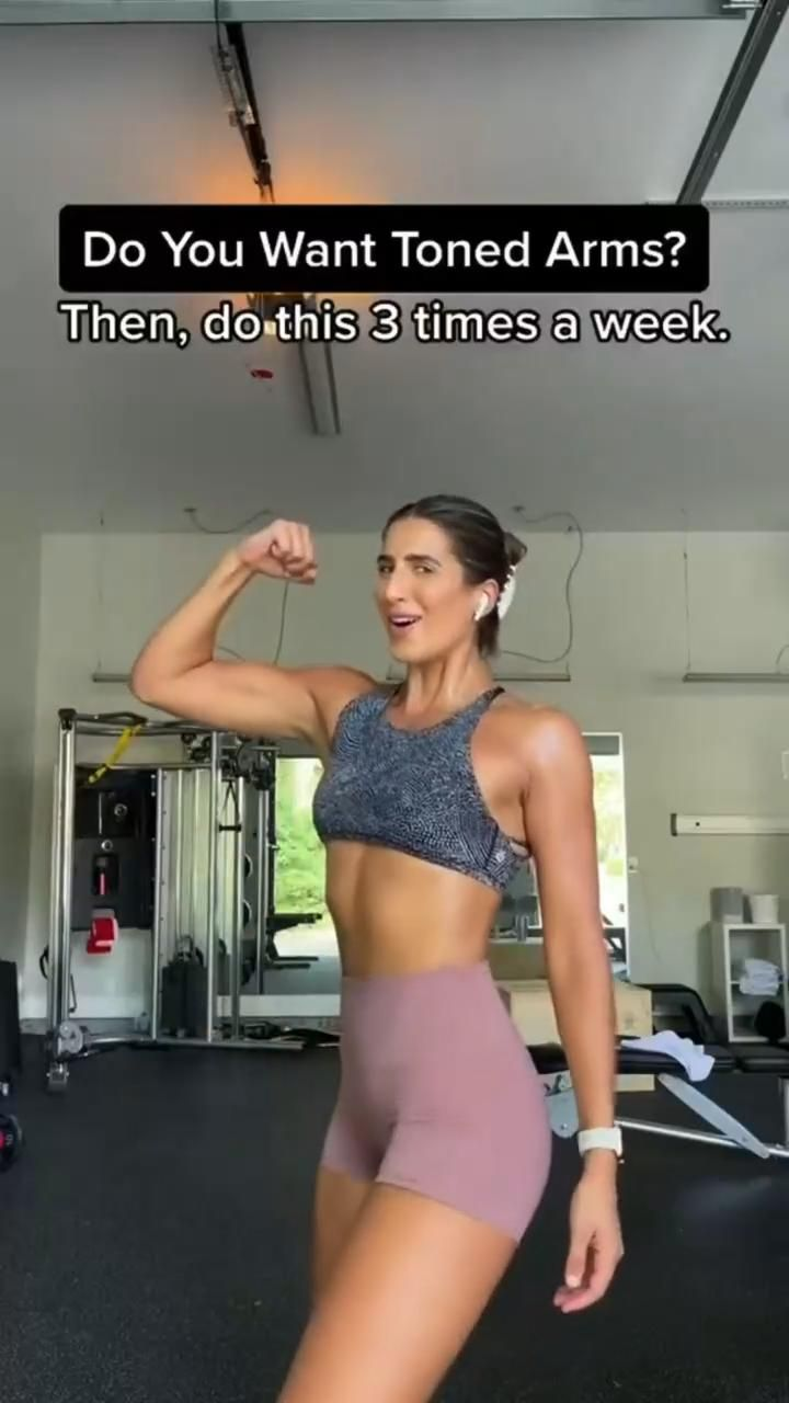 Do you want toned arms💪