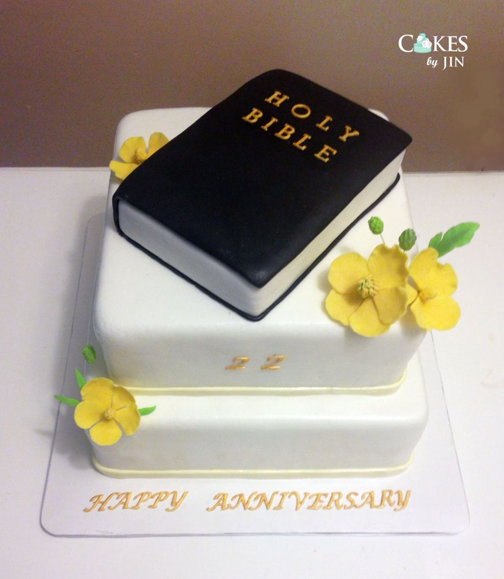 Church Anniversary Cake With Images Anniversary Cake Bible