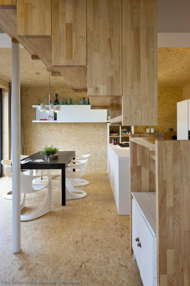 COUCH  Selbermachen wohnen, Bambusparkett, Offene küche